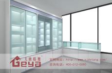 解析常见的玻璃展柜分类?