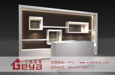 烤漆展柜与普通展柜在设计上有什么区别?