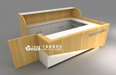 新型展柜之木质展柜——大唐格雅