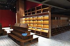 东台海春书局在哪家定制书柜的?[大唐格雅展柜]