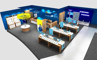 展柜定制|电脑手机展柜|南京展柜厂家