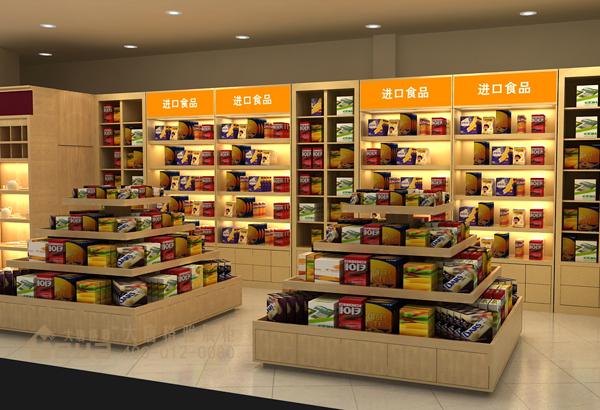 食品展柜-镇江万千百货