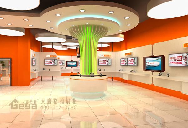 中国联通展柜-江苏全境