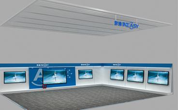 电子产品展柜-五星电器