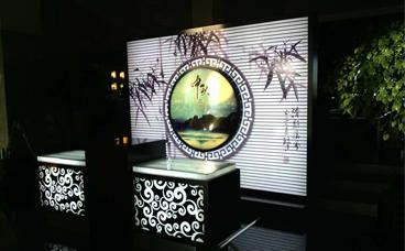 月饼展示架-浙江湖州月饼