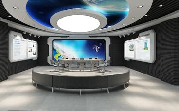 展厅设计-北斗卫星研究院展厅