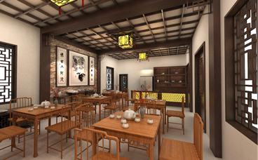 茶馆设计-南京唐二陵茶馆