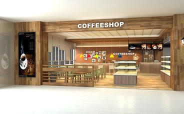 咖啡店装修-南京南航