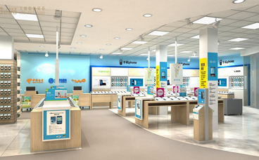 电脑手机展柜-淮海3C卖场