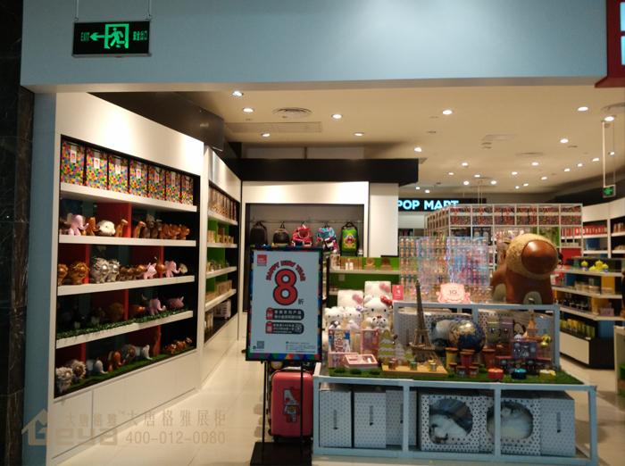 儿童玩具展示柜-南京柜台制作厂家-玩具展示架