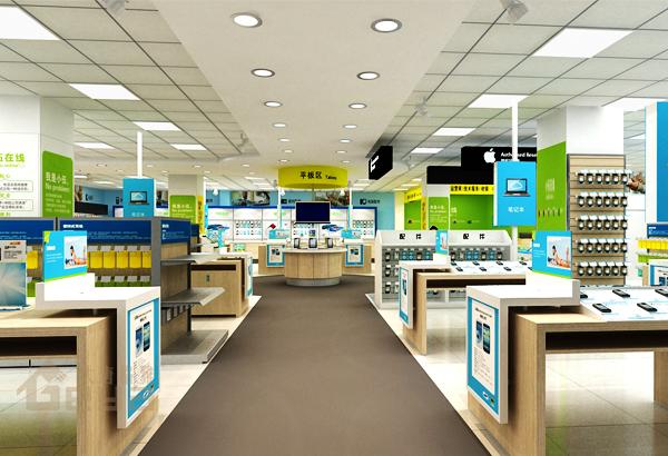 电脑展柜-手机柜台-南京展柜厂