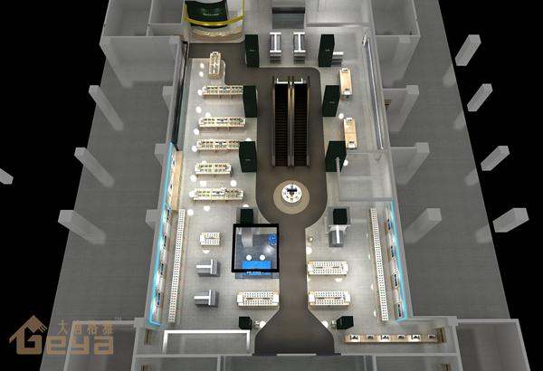 手机展柜制作-电脑展柜制作-电脑手机展柜