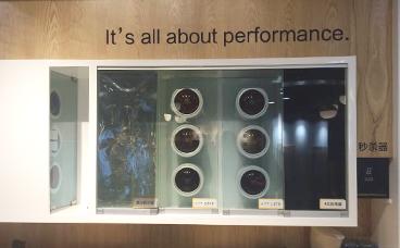 汽车膜展柜-南京展柜-汽车精品展架