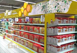 超市货架-货架-钢木货架