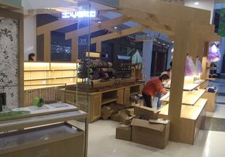 商场展柜-木质展柜-高端展柜