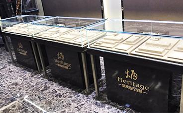 珠宝展柜-钻石珠宝柜台
