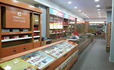 木质展柜-烟酒专卖店