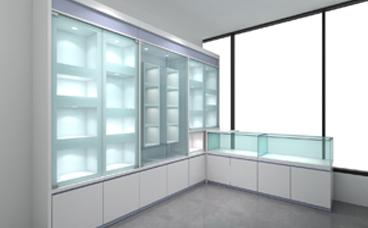 玻璃柜台-医院