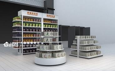奥体超市进口食品展柜
