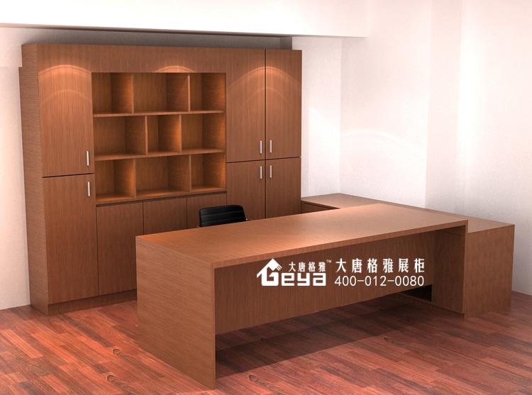 木质展柜—办公室展柜