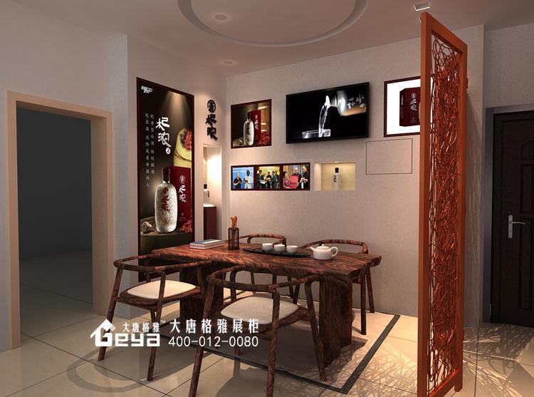 木质展柜—江中集团办公室