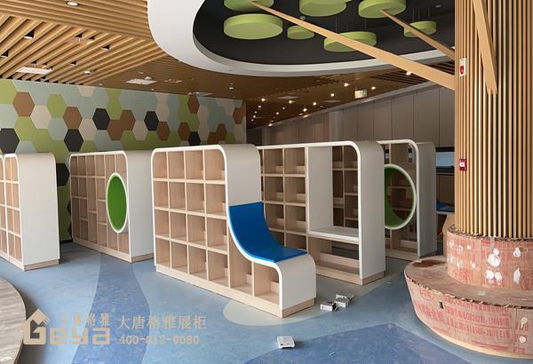 图书馆书柜-定制书架